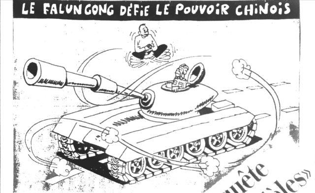 """Illustration de mars 2000 dans """"La Tribune de Genève"""""""