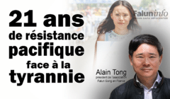 Alain Tong, président de l'association Falun Gong France