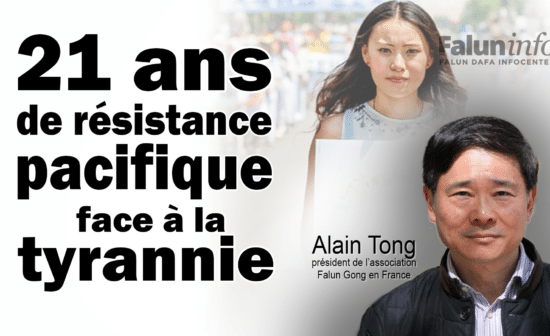 Alain Tong, président de l'association Falun Gong France