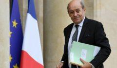 Monsieur Jean-Yves Le Drian, Ministre des affaires étrangères