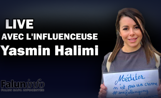 Live Instagram avec l'influenceuse Yasmin Halimi
